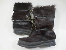Fur Boots Yeti Polar Boots fur Boots 5 1/2 38 38,5 Leather fur Tip Top /80