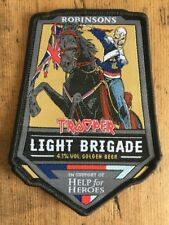 Iron Maiden Robinsons Trooper Light Brigade Official Patch Beer