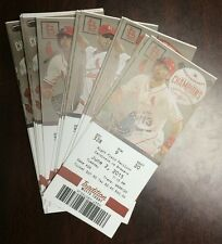 Matt Holliday NL/St. Louis Cardinals Record Streak Ends 45 Games Ticket 6/2/15
