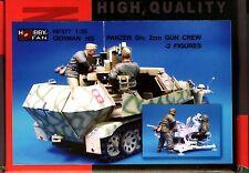 Hobby Fan 1/35 HF-577 WWII German HG Panzer Div. 2cm Gun Crew - 2 Figures