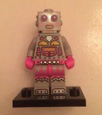 Lego Mini figure Lady Clockwork Robot Series 11
