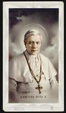 """santino-holy card""""""""ediz. FB serie 5 n.78 S.PIO X PAPA"""