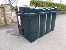 £1450+Vat 2500L DESO Bunded Fuel Station Tank Bowser tractor dumper