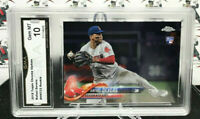 RAFAEL DEVERS RC ROOKIE 2018 TOPPS CHROME UPDATE #HMT23 RED SOX J27