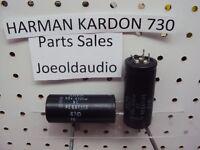 Harman Kardon 730 Original Filter Capacitors 50VDC 4700UF 1 Pair Parting Out 730