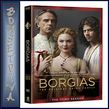 THE BORGIAS - COMPLETE SERIES SEASON 3  **BRAND NEW DVD **