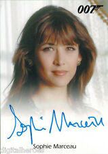 James Bond 007 Autograph & Relics 2013 Card Sophie Marceau as Elektra King