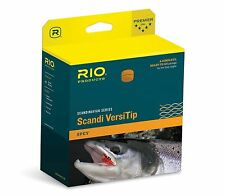 RIO NEW SCANDI VERSITIP #9 585-GR GRAIN SPEY ROD FLY LINE PACKAGE: BODY + 4 TIPS