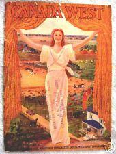 1923 CANADA FARM LAND PROMOTIONAL BROCHURE BOOK W/MAPS