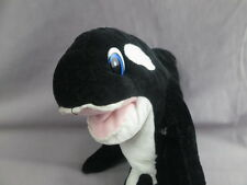 Seaworld Busch Gardens Adventure Vacation Killer Whale Orca Plush Stuffed Toy