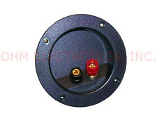 "Speaker Box Binding Post Banana Terminal Cup Fits 3"" (76.2mm) Hole / 4-1/16"" OD"