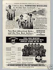 1941 PAPER AD D&M Drayper Maynard Leather Football Helmet Store Window Display