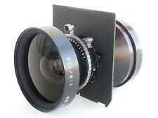 Fuji (Fujinon) SW 125mm/f 8.0 lens, Copal shutter, a lens board (671312)