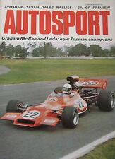 AUTOSPORT magazine 2 March 1972 featuring Reliant Scimitar GTE road test