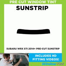 Pre Cut Sunstrip - Subaru WRX STi 2014 Window Tint