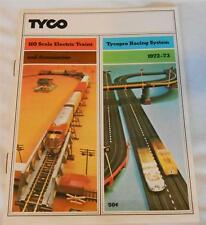 1972-73 Tyco HO Trains / Slot Car Catalog