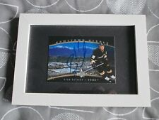 Ryan Getzlaf, Anaheim Ducks, Rare Auto'D/Signed Card In Frame, Ready To Display.