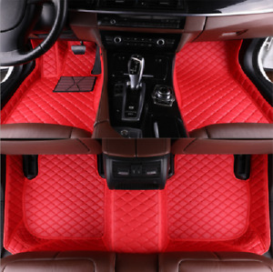 For 2016-2020 Jeep Compass special red all-weather waterproof non-slip floor mat