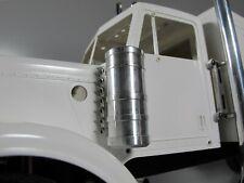Pair Aluminum Side Air Cleaner Intake Tank for Tamiya 1/14 King Grand Hauler