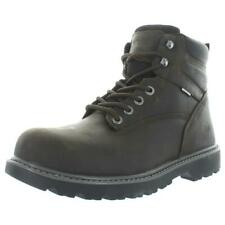 Wolverine Mens Floorhand Brown Steel Toe Boots 10 Extra Wide (E+, WW) BHFO 8026