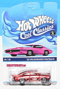 HOT WHEELS COOL CLASSICS '65 VOLKSWAGEN FASTBACK #25/30 RED W+