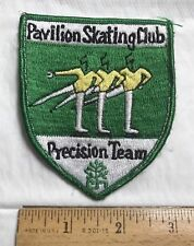 Pavilion Skating Club Precision Team Cleveland OH Embroidered Patch