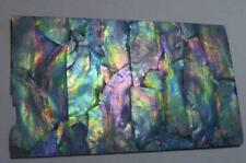 Very Colorful RAINBOW! Dark Mother of Pearl Shell INLAY Thin Sheet Veneer