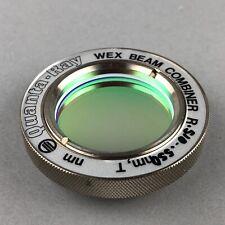 Quanta Ray Wex Dichroic Laser Beam Combiner 510 550nm 35mm Dia