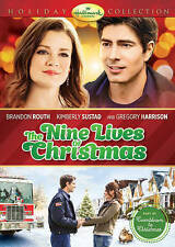 THE NINE LIVES OF CHRISTMAS New Sealed DVD Hallmark Channel Factory Sealed