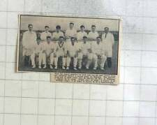 1960 St Just Cricket Team Photo, Williams, Quick, Giles, Eddy, Charlesworth