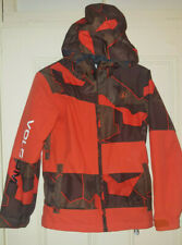 Volcom Boys Medium Buckeye Insulated Snowboard Jacket Youth Kids