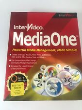 Inter Video Media One For Windows Management DVD CD Photo MP3 Data Create Copy