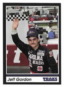 1991 Traks #1 Jeff Gordon RC Rookie Nascar Racing