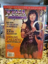 Xena Warrior Princess Magazine  #2 Topps in plastic sleeve