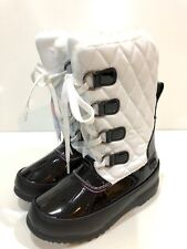 Totes Kayla Girls' Winter Waterproof Boots Youth Size 12 M