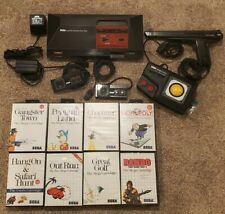 Sega Master System Console ORIGINAL and 8 Games And MORE!!! FULLY TESTED WORKING