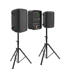"JBL Eon208P 8"" 300W PA System with Mixer and Bluetooth - BONUS speaker stands"