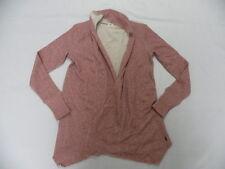 O'Neill 365 Women Fitness Encourage Pink Long Sleeve Shrug Sweater Top Sz Small