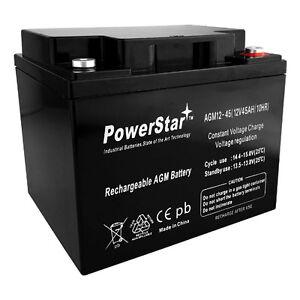 PowerStar® 45977 Sealed Lead Acid Battery 12V 45AH - 2 Year Warranty
