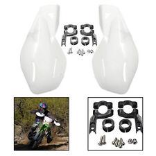 Protège Main Plastique blanc pour Poignée de Moto Universel 22mm Guidon