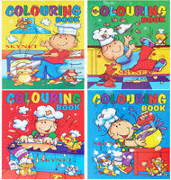 4 x A4 COLOURING BOOK BOOKS Children Kids Boys Girls