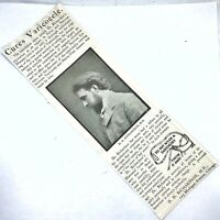 Authentic 1860-1930's Quack Medical Advertisement - Oddities Collectible Old