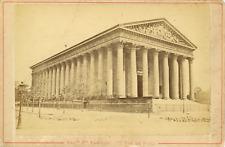 Maison Martinet, France, Paris, La Madeleine, ca.1880, vintage albumen print Vin