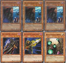 Authentic Ishiki Erishi Deck - Gravekeeper's Spy - Spear Soldier - NM - 40 Cards