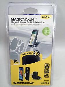 SCOSCHE MAGIC MOUNT Car Cell Phone Tablet Gps Cradle Mobile Device Holder Magnet