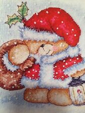 Forever Friends Christmas Cross Stitch Chart
