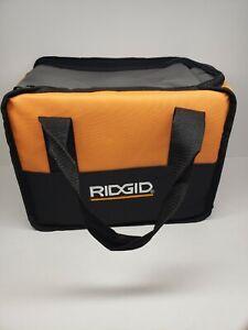 """RIDGID Soft Sided Heavy Duty Canvas  Tool Bag Size 11"""" x 8"""" x 6"""""""