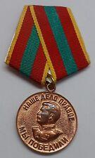 Orden, Medaille 2 WK, für die heldenmütige Arbeit im Krieg, Stalin.