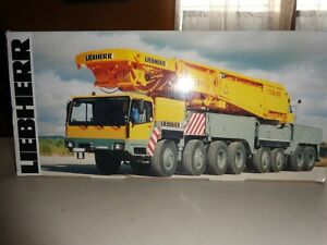 YCC #780-c    LG 1800/1550 LATTICE BOOM CRANE  1/50