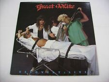 GREAT WHITE - RECOVERY LIVE! - LP VINYL EXCELLENT CONDITION CANADA PRESS 1987